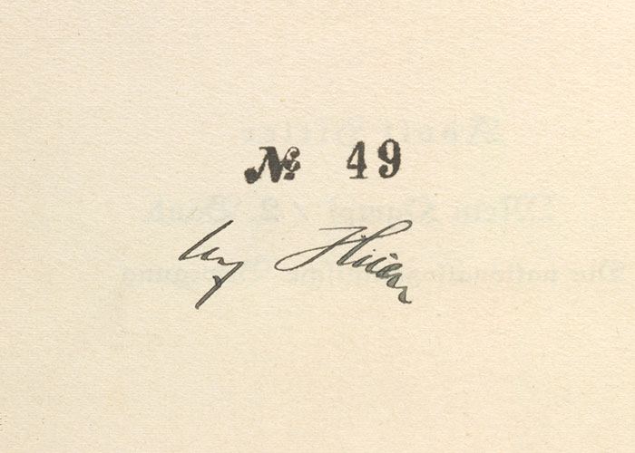 Adolf Hitler's signature next to the number 49