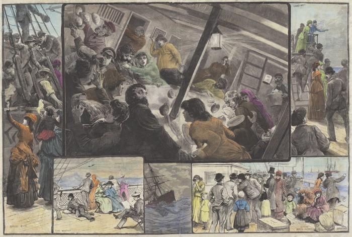 Emigrants Going to Australia
