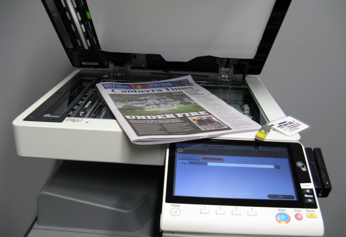 Multifunction copier and scanner