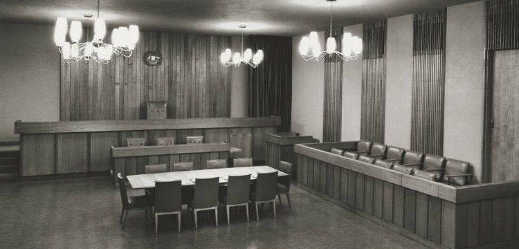Interior of ACT law courts