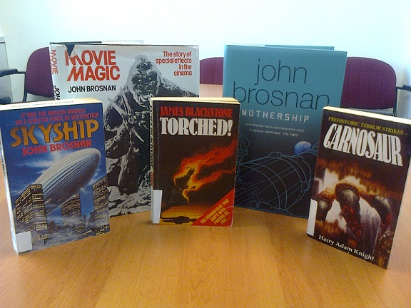 A selection of John Brosnan titles held at the NLA