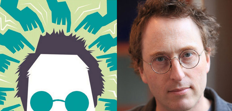 Detail from the cover of So You've Been Publicly Shamed and Jon Ronson portrait
