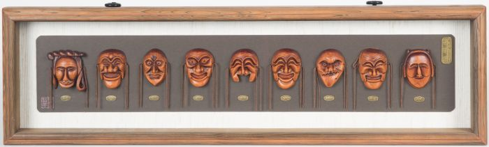 Hahoetal Masks (Korean National Treasure #121)