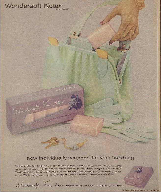 Advertisement for Kotex