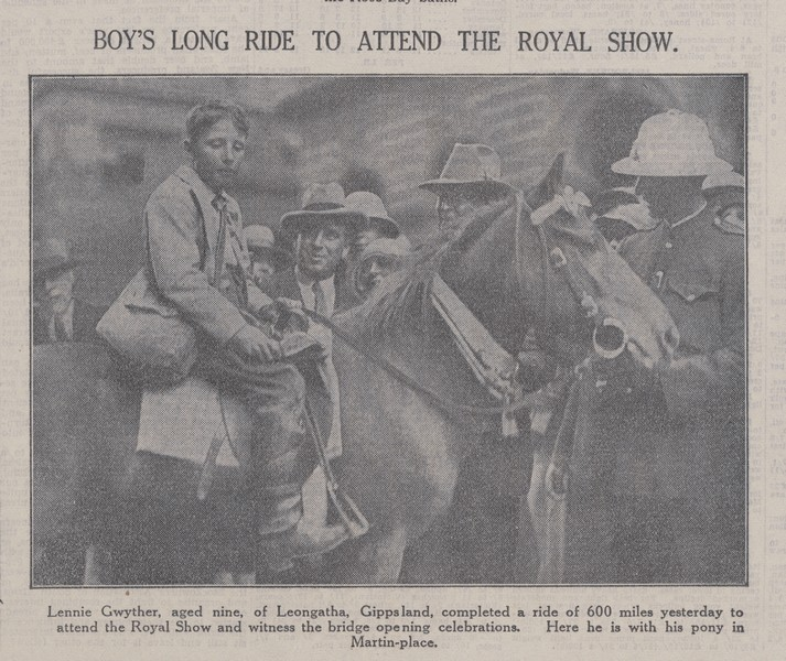 SMH article, 10 March 1932
