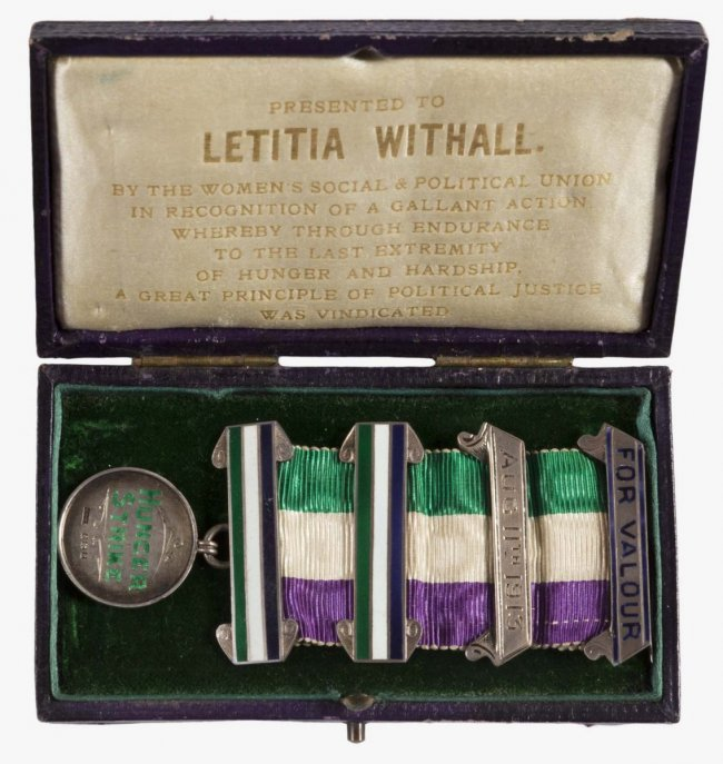 Letitia Withall Hunger Strike Medal