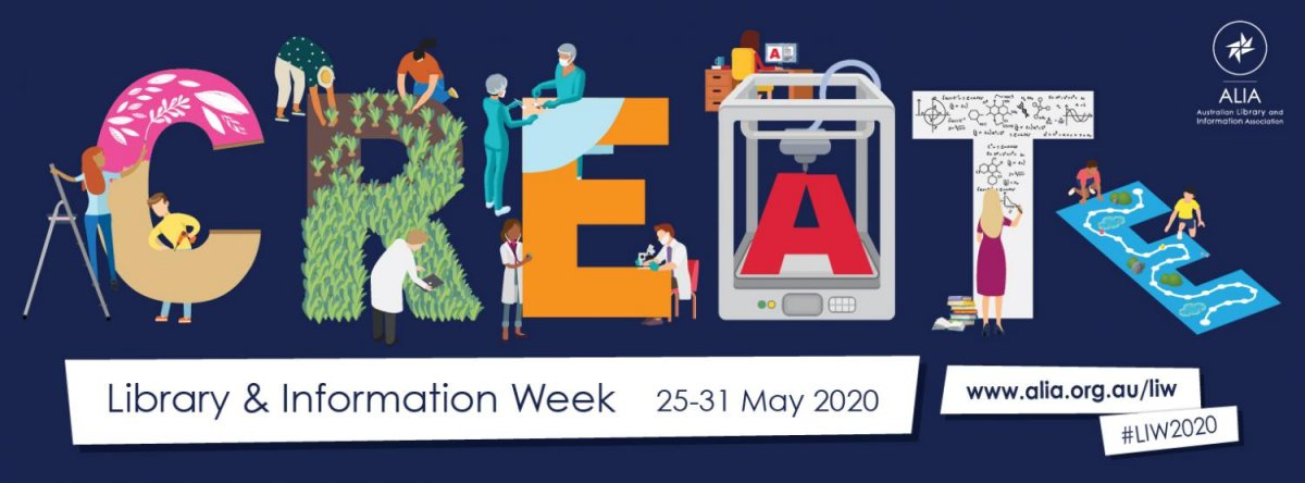 Create with Library and Information Week 2020