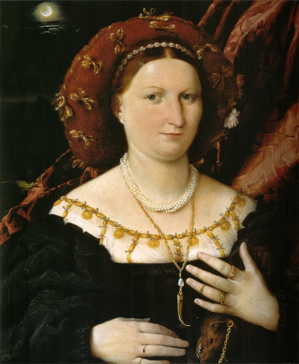 Portrait of Lucina Brembati