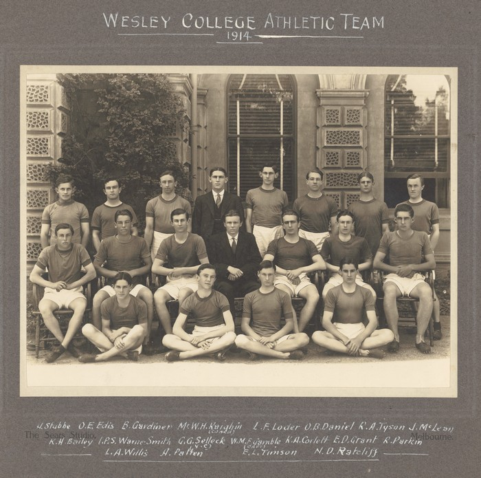 Wesley College Athletic Team