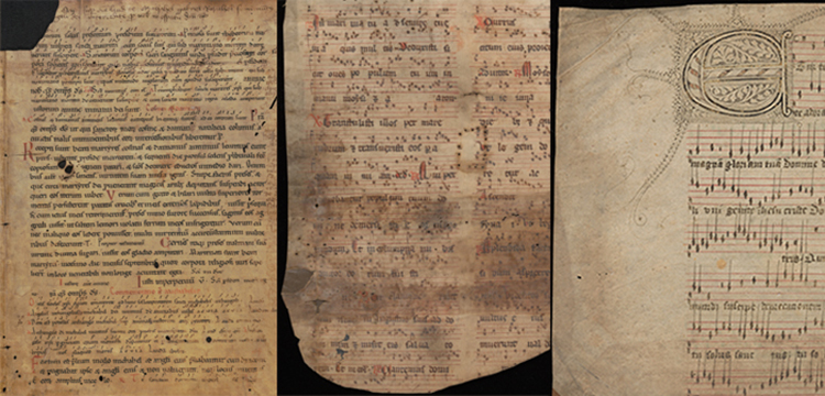 Images of medieval manuscripts and documents