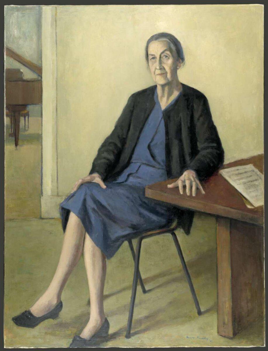 Miriam Hyde portrait