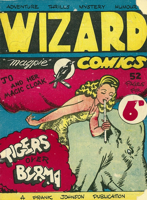 Cover of Wizard Comics