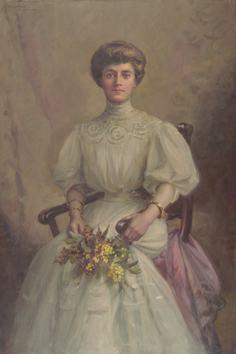 Portrait of Ellis Rowan