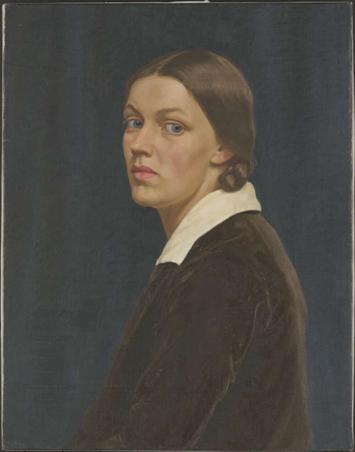 Self portrait of Nora Heysen