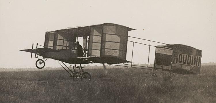 Image of Houdini's plane