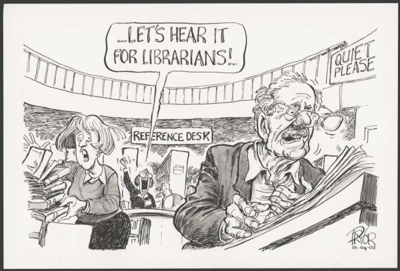 Let's hear it for librarians!