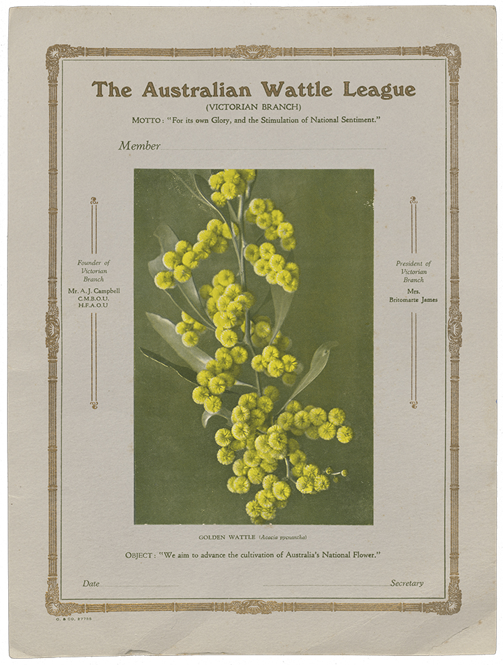 The Making Of A National Floral Emblem National Library Of
