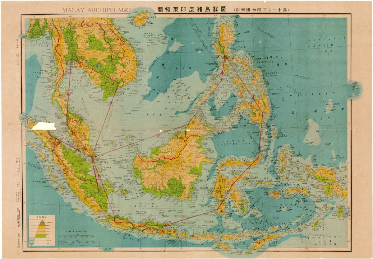 Malay Archipelago map