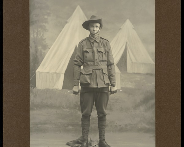 Portrait of an Australian soldier, ca. 1915