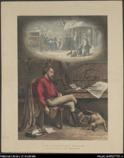 Samuel Calvert - Bushman's Dream