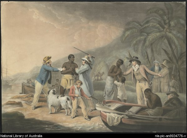 John Raphael Smith - Slave Trade 1791