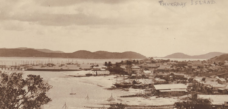 photograph of Thursday Island c. 1920