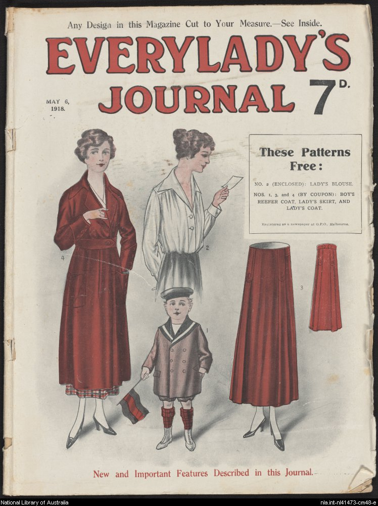Everylady's Journal, 6 May 1918 (National Library of Australia)
