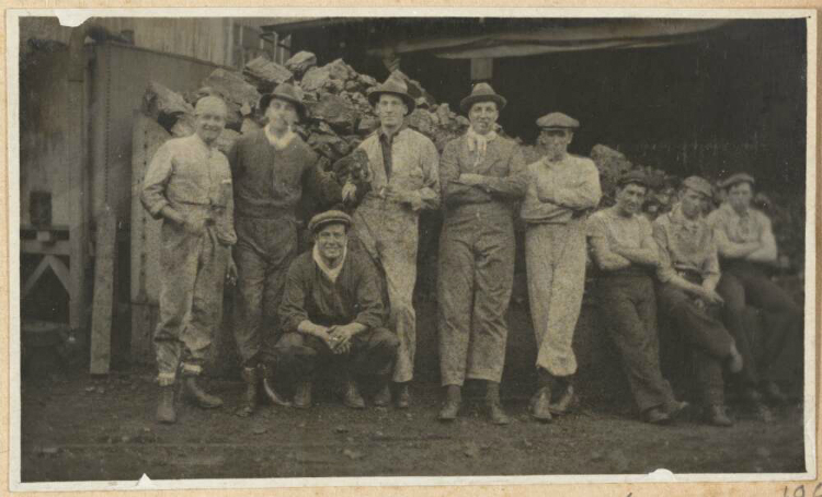 Great Strike workmen photo 1917