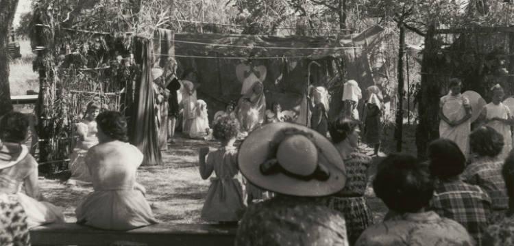 Nativity play, Cucumgilliga Primary School, 1957