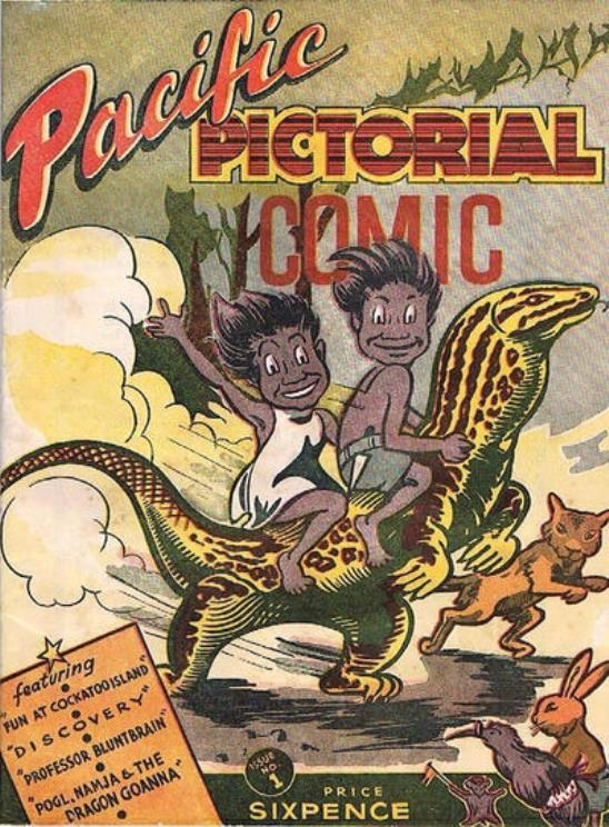 Pacific Pictorial Comic issue 1