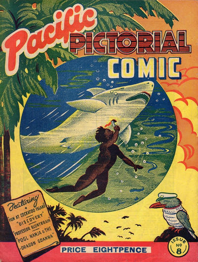 Final issue of Pacific Pictorial Comic