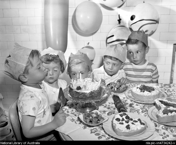 Picture of children at a party