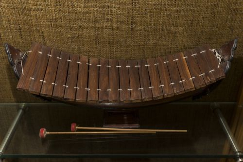 Miniature Model of a Burmese Xylophone