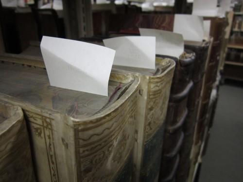 Heads of rare books