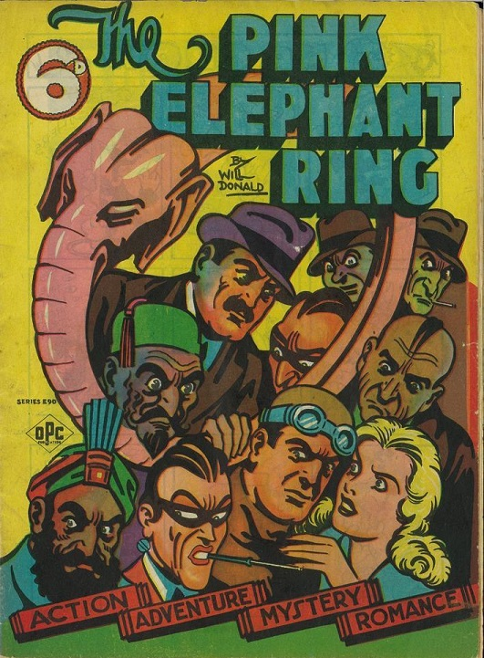 Cover of The Pink Elephant Ring