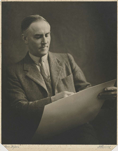 Portrait of Hans Heysen