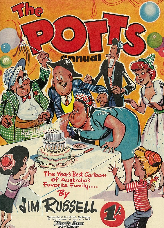 Cover of The Potts Annual