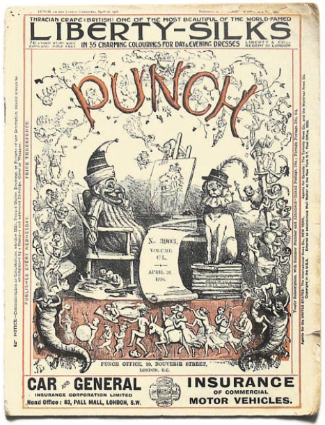 Doyle's Punch magazine cover