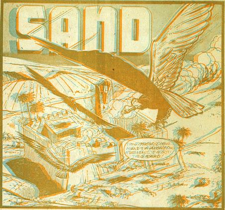 "Frame from ""Sand"" (3D glasses required)"