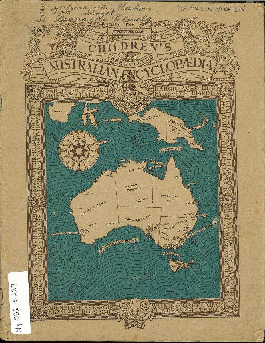 Cover of Sanitarium encyclopedia