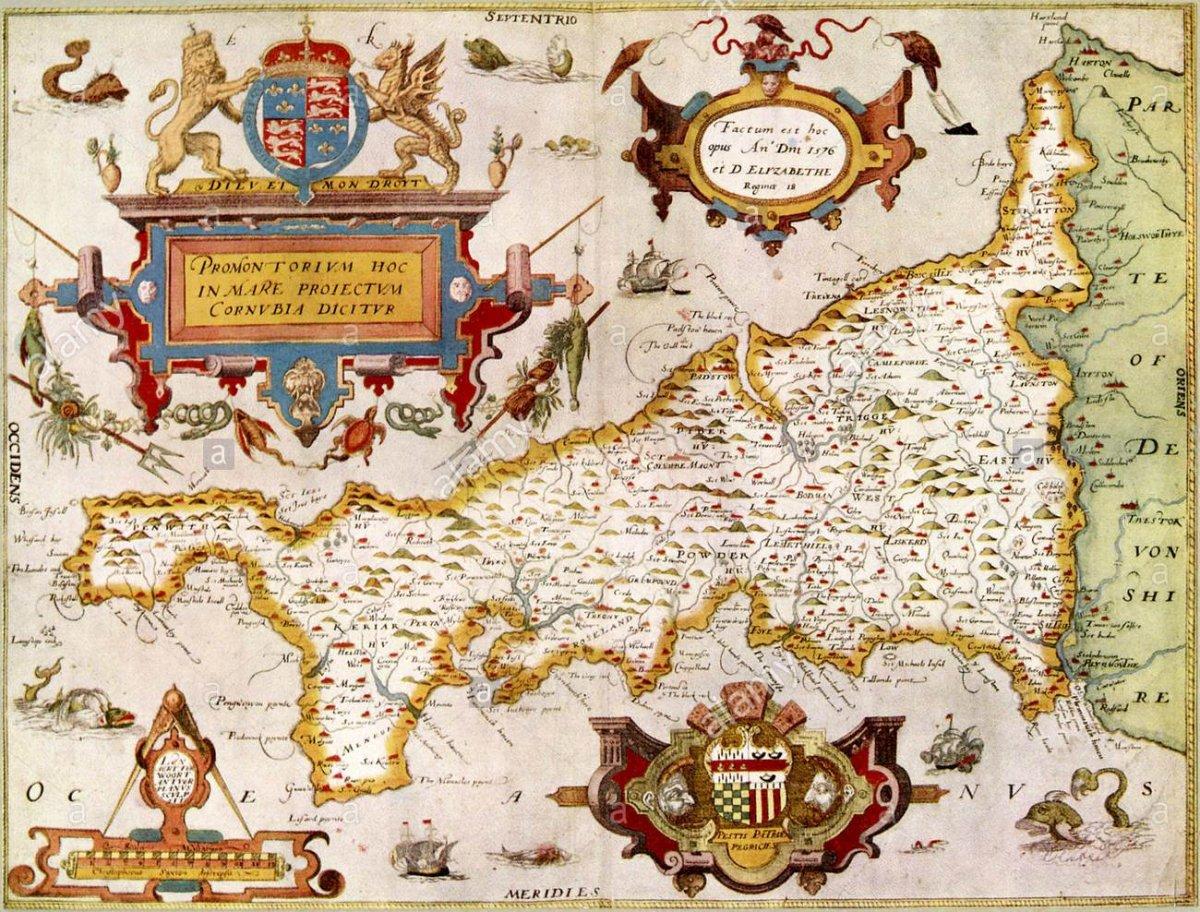 Saxton's map