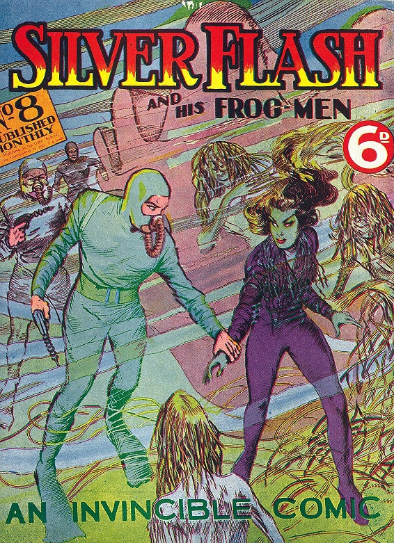Cover of Silver Flash and His Frog-Men