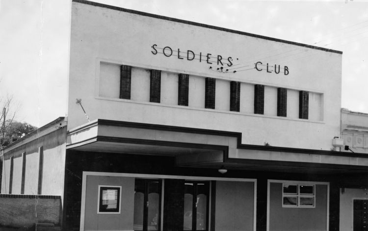 Soldier's Club in Gympie