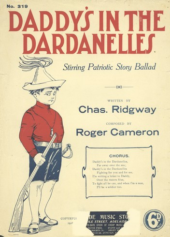Daddy's in the Dardanelles