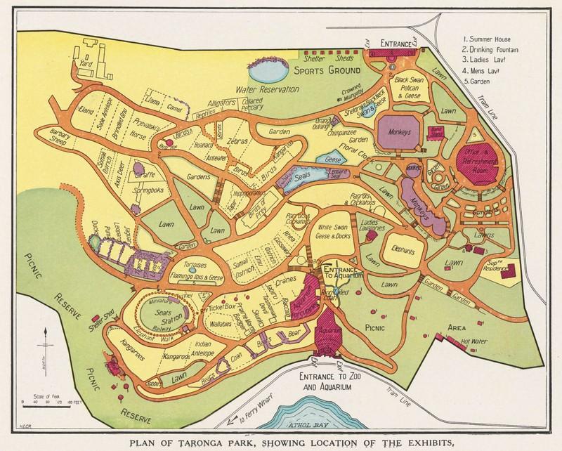 Taronga Map