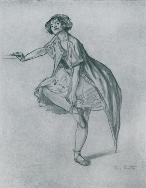 The Dancer by Thea Proctor, Art in Australia, no. 68, 16 August 1937