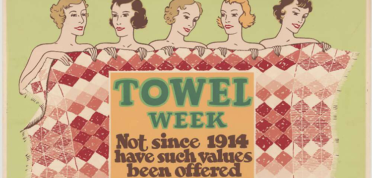 Advertisement for towel week