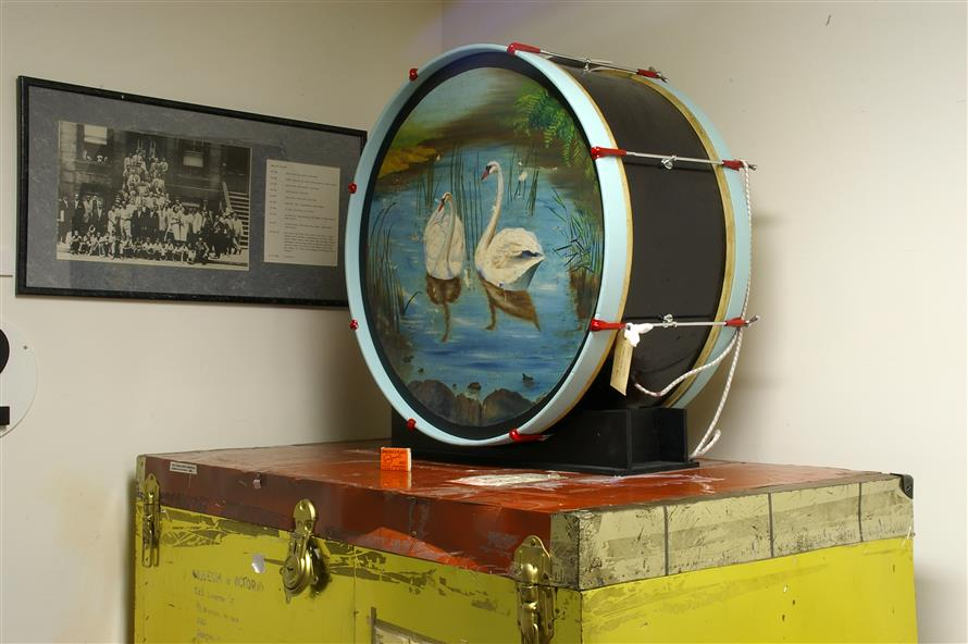 Picture of bass drum
