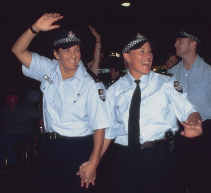 NSW Police join Mardi Gras