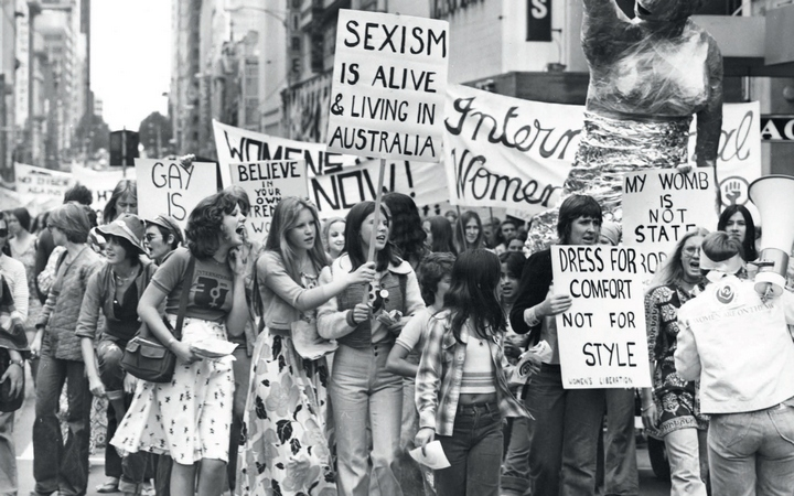 International Women's Day march, 1975